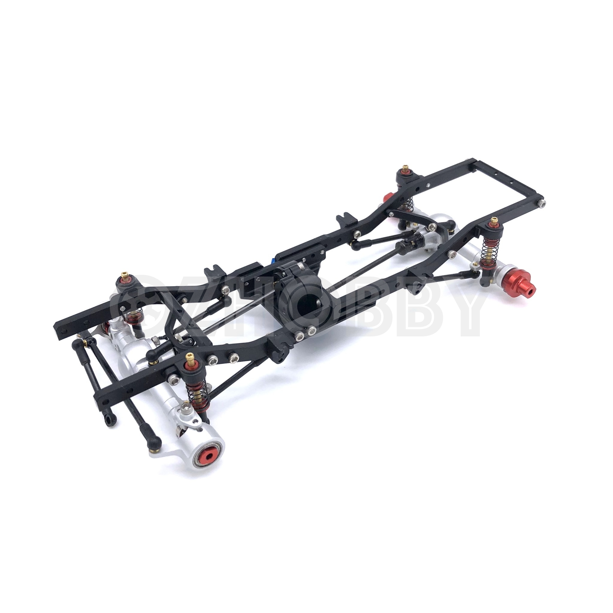 Autorc 1 24 Gk24 V2 Micro Rc Crawler Full Metal Chassis