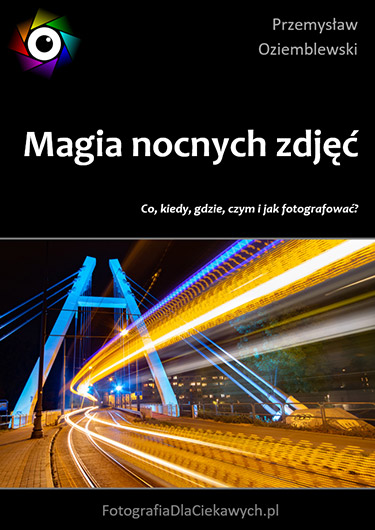 okladka - Magia nocnych zdjęć