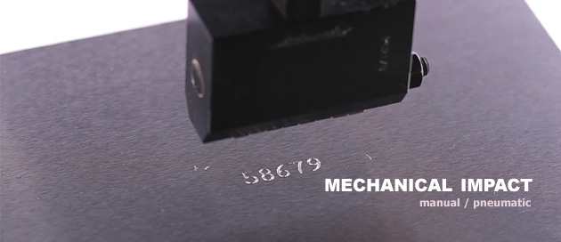 Mechanical impact manual/pneumatic