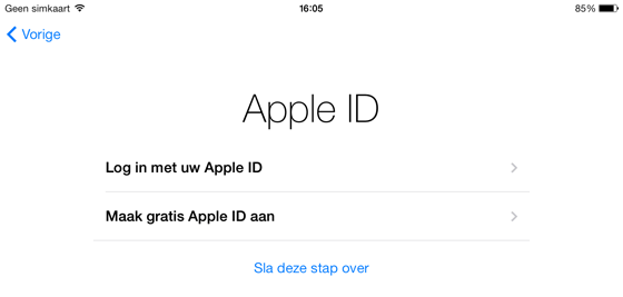 iPhone iPad Apple ID