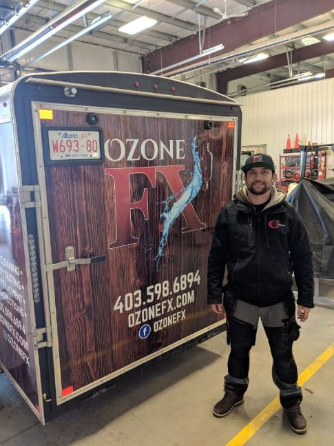 Ozone-FX new trailer and wrap