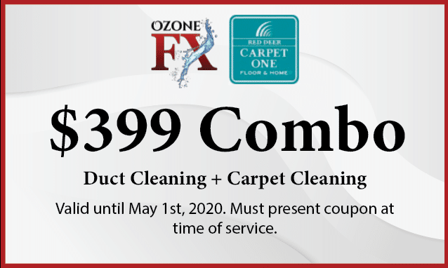 Furnace cleaning & carpet cleaning special