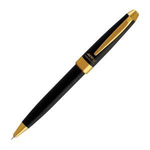 ADD Gel Regent Gold Blue Gel Pen