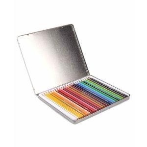 Doms Tin Box 28 Shades Colour Pencils