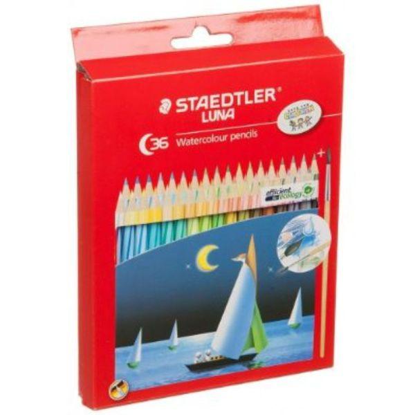 Staedtler Luna Aquarelle Water Color Pencil, 36 Shades