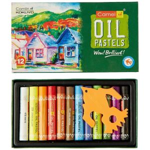 Faber Castell Oil Pastel (12 Shade)