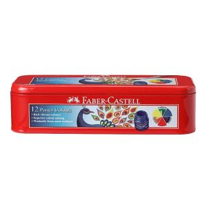 Faber Castell Poster Colour (12 Shades) Tin Pack