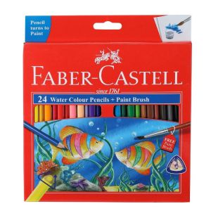 Faber Castell Water Colour Pencils (24 Shades)