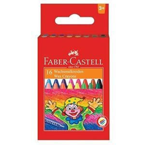 Faber Castell Wax Crayons (16 Shades)