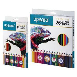 Apsara 26 Premium Color Pencils (TIN)