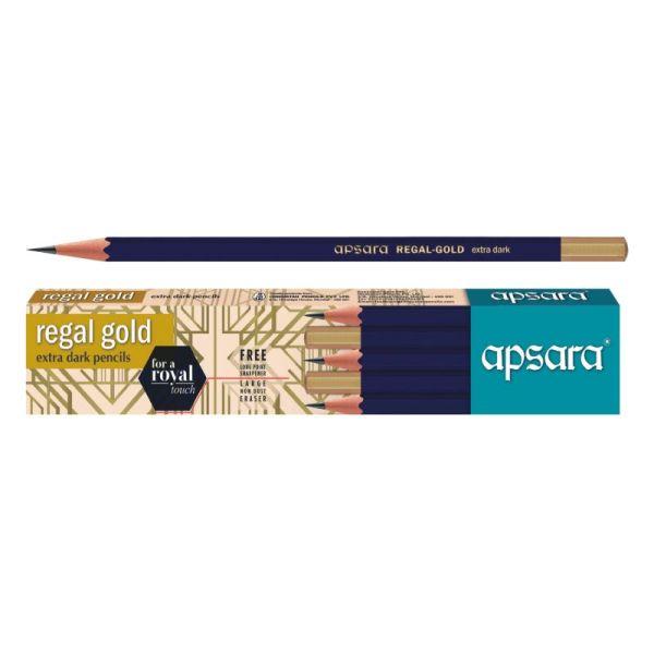 Apsara Regal Gold Wooden Pencil