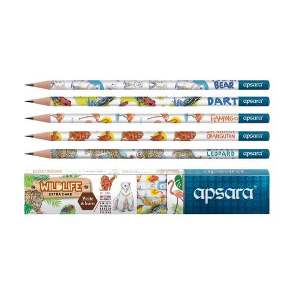 Apsara Wildlife Wooden Pencil
