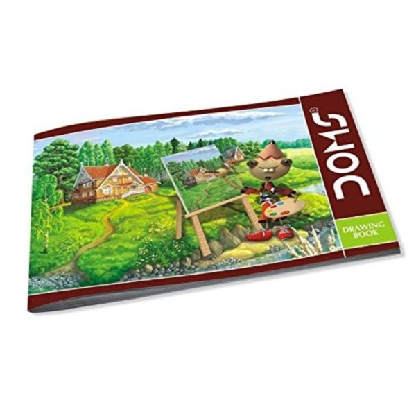 Doms Drawing Note Book Quarter Size Page-36