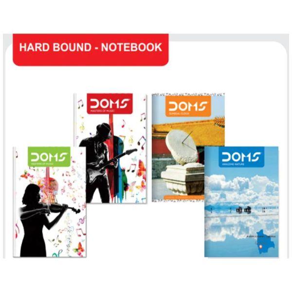 Doms Hard Bound A4 Register Page-340