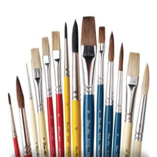 Fine Art Painting Brushes 412 Tr-4