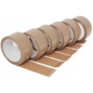 G3 2 Inch Brown Tape 65 mtr Pack of 6
