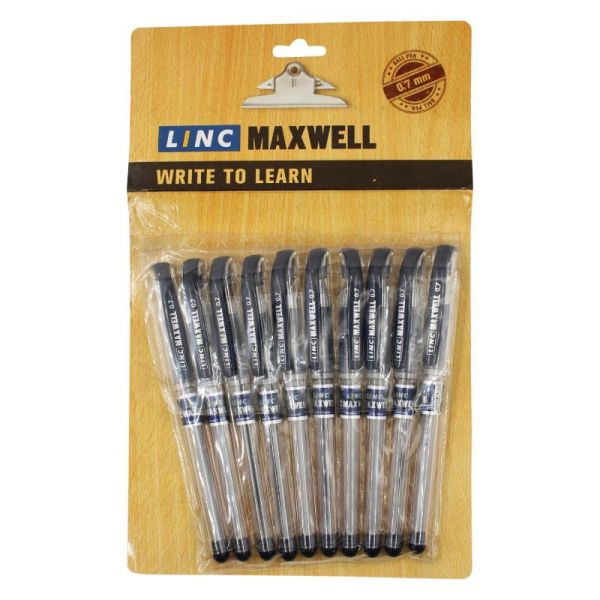 Linc Maxwell Black Ball Pen