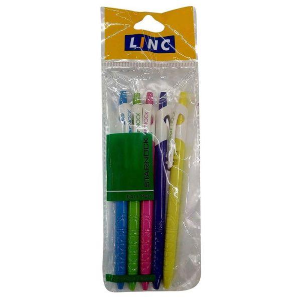 Linc Starnock Blue Ball Pen