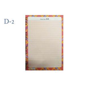 Lotus A4 Designer Colour Sheet's (D-2)