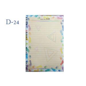 Lotus A4 Designer Colour Sheet's (D-24)