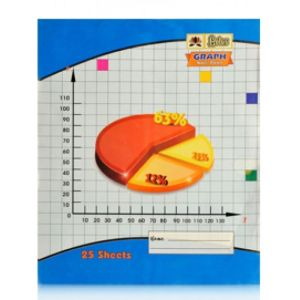Lotus Graph Note Book (Graph Copy Top Side)