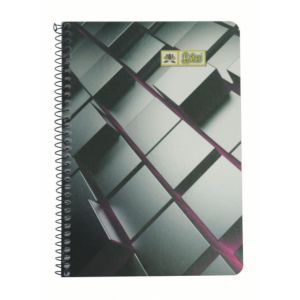 Lotus Spiral Note Book (A-4) Square