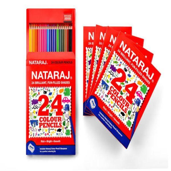 Nataraj 24 HF Colour Pencils