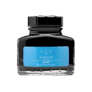 Parker Quink Bottled 30ml Blue Colour Wahsable Accessories