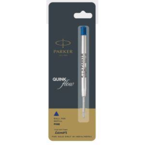 Parker Quink Flow Ball Pen Refills 1.0mm Blue Accessories