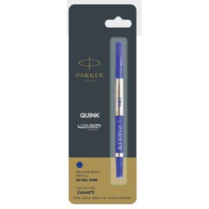 Parker Quink Ultra Fine Navigator Roller Ball Pen Refills Black Accessories
