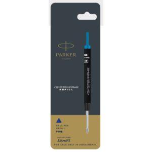 Parker Systemark Ball Pen Refills 0.8mm Blue Accessories