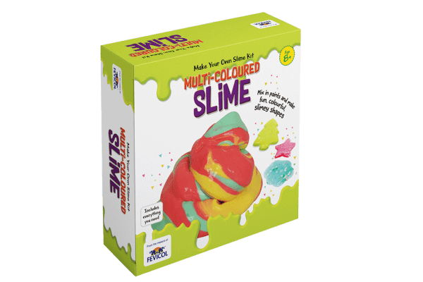 Pidilite Diy Slime Kit Multi-colored