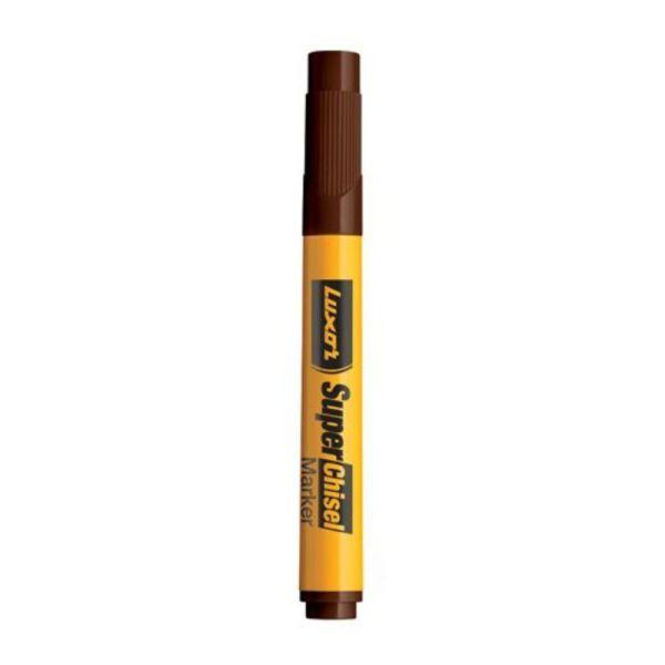 Luxor Brown Broad Marker