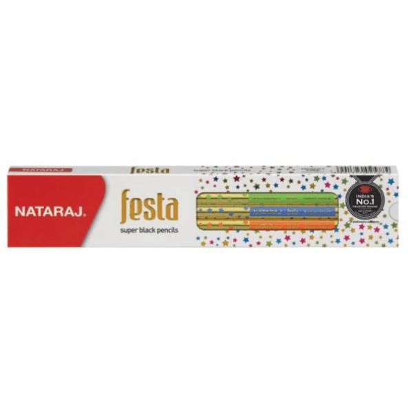 Nataraj Festa Wooden Pencils