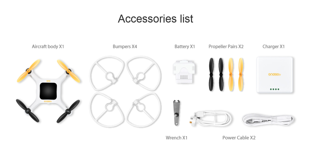 Drone with Full Accessories