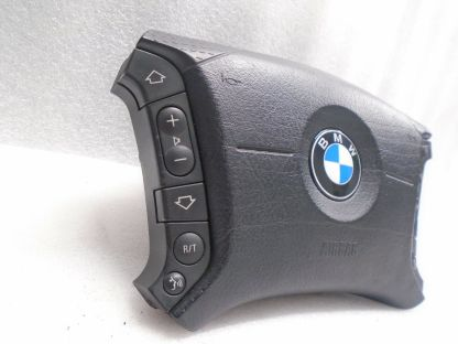 BMW X5 2000-2006 DRIVERS STEERING WHEEL AIR SAFETY BAG (3367521643) OEM DK80489