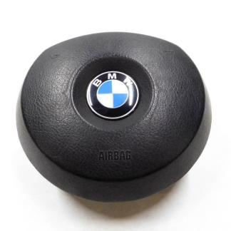 2004-2006 BMW X3 X5 (E53 / E83) 3 SPOKE STEERING WHEEL AIRBAG AIR BAG (BLACK)