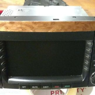 Command Head Unit Navigation Radio CD Player 06-08 Mercedes W251 R500 R350 OEM
