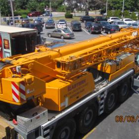 Safe removal via crane