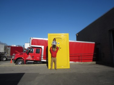 Worlds largest gun safe with Paul & Brianna Ousey
