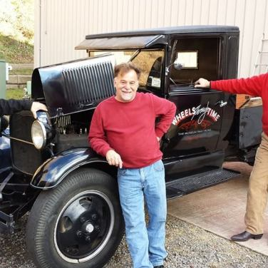 Donation of 1929 Ford for Wheels Through Time - 2014