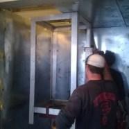 Modular Vault Installation
