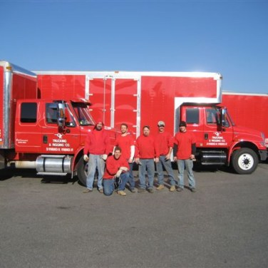 Fleet of Trucks and Our Crew
