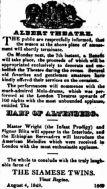 Ethiopian Serenaders ad [CT 4 Aug. 1848, 1]