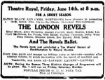 London Revels [TDB 12 June 1929, 3]