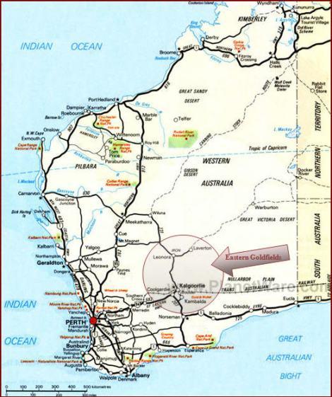 Eastern Goldfields map 2