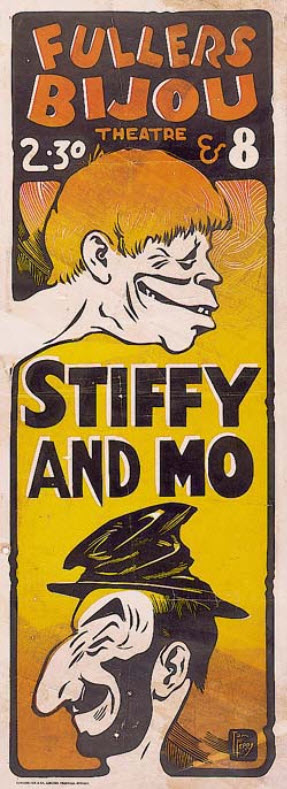 Stiffy & Mo Poster [Fabian]