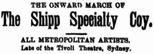 Shipp Specialty Co [CRA 31 Mar 1899, 5]