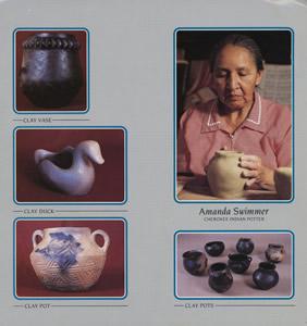 Historic First Nations Artist Amanda Swimmer