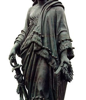 Statue of Freedom Above the Capital Dome